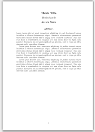 thesis writing font size FAMU Online