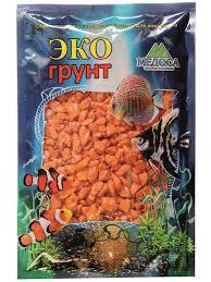 <b>Цветная мраморная крошка Эко</b> грунт 5 10mm 1kg Orange 540018