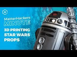 MatterHackers Minute // 3D <b>Printing Star Wars</b> Props - YouTube