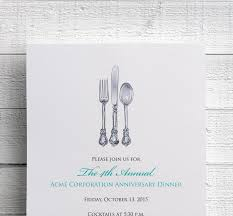 corporate dinner invitation company dinner invitation 128270zoom