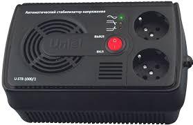<b>Стабилизатор</b> напряжения <b>UNIEL U</b>-<b>STR</b>-<b>1000/1</b>: купить за 1799 ...