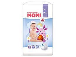 <b>Подгузники</b>-трусики <b>Momi High Standard</b> M 6-11 кг, 56 шт. New ...