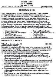 quality manager resume sample   uhpy is resume in you property manager resume sample writter
