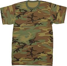 Military Camouflage T-Shirt Army Fashion Color ... - Amazon.com