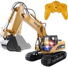 15 Channel <b>2.4G RC</b> Alloy <b>Crawler</b> Excavator Electric <b>Remote</b> ...