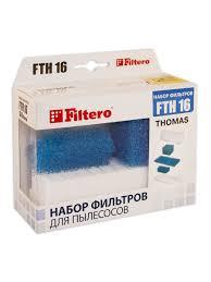 <b>Filtero FTH</b> 16 TMS HEPA <b>фильтр</b> для пылесосов Thomas Filtero ...