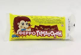 <b>Гематоген ФЕРРО 50г</b> БАД - цена от 38.70 руб., купить в онлайн ...
