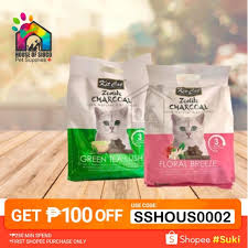 <b>Kit Cat Zeolite</b> Charcoal Cat Litter 4kg | Shopee Philippines