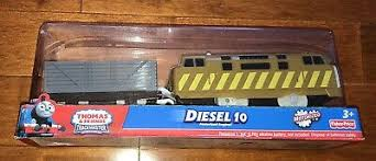 2011 Fisher-Price <b>Thomas and</b> Friends Trackmaster Diesel <b>10 Train</b> ...