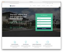 top 20 html5 real estate website templates 2017 colorlib leadgen is a resourceful and responsive html marketing multipurpose website template leadgen lets you put together impressive modern websites out