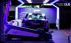 robots valet parking cars at german airport yes it s awesome your daily dose of the future robots valet parking cars at german airport