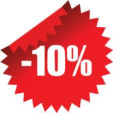 Αποτέλεσμα εικόνας για ΕΚΠΤΩΣΗ 10%