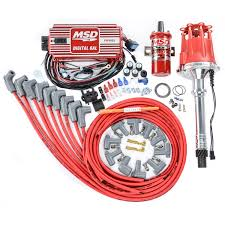 msd al parts accessories msd 85551k ignition kit includes distributor 6al ignition box blaster 2 coil
