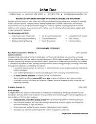 Great Sales Resumes  great resume for sales representative