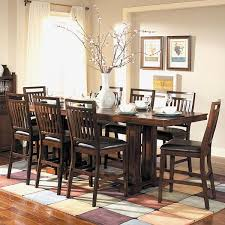 cherry counter height piece: tribecca home harper warm cherry  piece counter height dining set overstocka shopping