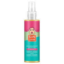 <b>Кондиционер для волос</b> `SUN <b>LOOK</b>` двухфазный (для защиты ...