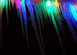 Icicles as Art!