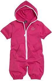 ELLOS / <b>LA REDOUTE</b> Girls Cotton Rich Pink White Trim Onesie ...