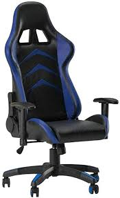 DEPRQ <b>Gaming Chair</b> High-Back <b>PU</b> Leather <b>Office Chair</b> Computer ...