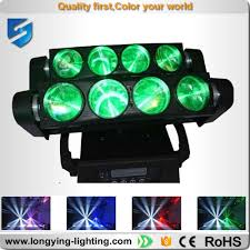 new led spider light effects cree 8x10w rgbw beam moving head 90v 240v cheap moving heads cheap lighting effects