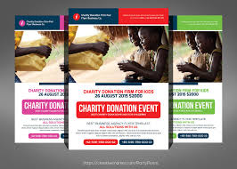 charity donation flyer template flyer templates on creative market charity donation flyer template