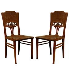 set of 6 french art nouveau dining chairs at 1stdibs art deco dining chairs