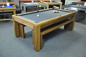 pool table dining tables: montfort lewis teak with benches  lewis teak with benches montfort lewis teak with benches