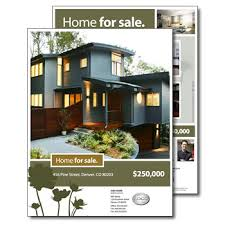 real estate brochures quothome for quot real estate brochure now available in five color schemes