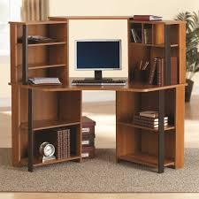 office desk walmart mainstays corner workstation cherry with black accents bedroominspiring high black vinyl executive office