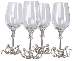 Набор бокалов для вина Sea Life   xn--50--mdd7aagxbazh.xn--p1ai