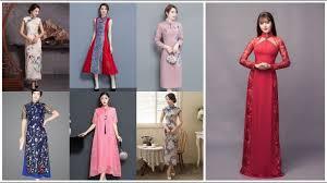 Stylish <b>Chinese Style</b> Silk <b>Long</b> Outfits Design Ideas 2019-20 ...