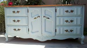 distressed wood furniture image blue shabby chic furniture