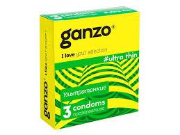 <b>Презервативы Ganzo Ultra</b> thin ультра тонкие, 3 шт. купить в ...