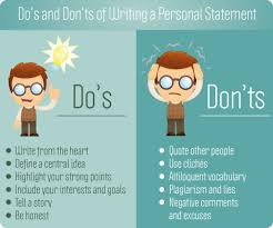 The importance of your personal statement English literature