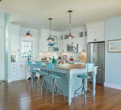 turquoise bar stools kitchen beach with bamboo wood flooring barn art deco kitchen lighting