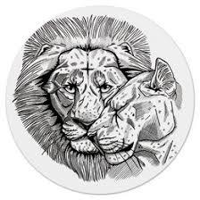"""Коврики для мышки c красивыми принтами """"<b>lion</b>"""" - <b>Printio</b>"""