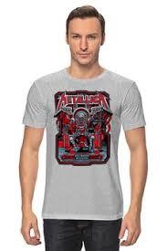 """Мужские футболки c уникальными принтами """"<b>рок музыка</b>"""" - <b>Printio</b>"""
