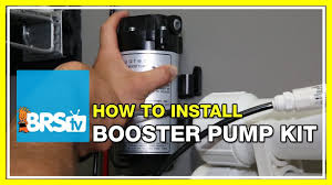 How to install the RODI Booster Pump Kit | BRStv How-To - YouTube