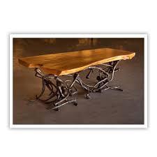 charleston forge custom furniture handmade metal furniture made in america beautiful combination wood metal furniture