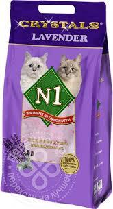 Купить <b>Впитывающий наполнитель N1 Crystals</b> Lavender 5 л с ...