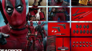 TOYSTV Prototype Preview S (Video) <b>Hot</b> Toys <b>1/6</b> Deadpool 2 ...