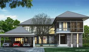 Modern Contemporary Two Story House Plans Modern Two Story Roof    Modern Contemporary Two Story House Plans Modern Two Story Roof
