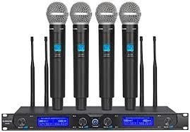 <b>G</b>-<b>MARK</b> G440 Professional Wireless Microphone System Four ...