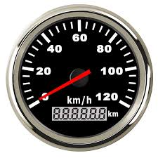 85mm <b>Motorcycle</b> GPS <b>Speedometer odometer</b> for Truck Boat Car ...
