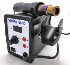 Обзор - термовоздушная <b>паяльная станция YIHUA 858D</b>