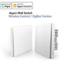 <b>Aqara</b> Wall Switch D1 ZigBee Zero Line Fire Wire Light <b>Wireless</b> Key ...
