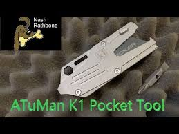 ATuMan K1 <b>EDC</b> Pocket <b>Tool</b> - YouTube
