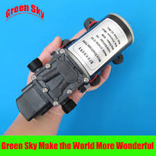 <b>6L</b>/<b>Min</b> 12V <b>DC 80W</b> automatic pressure switch type automatic water ...