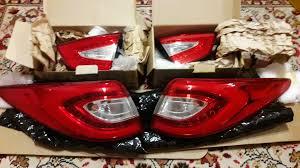 <b>Задние оригинальные фонари</b> LED на Hyundai ix-35 — Hyundai ...