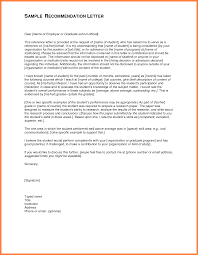 letter of recommendation for graduate school examples appeal letter of recommendation for graduate school examples